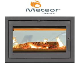 Meteor Εστίες Κασετες Inserts Wood